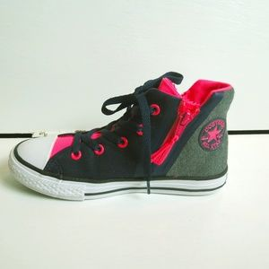 Converse Shoes For Girls- High Top Blue, Pink,Gray